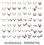 collection of cute lovely... | Shutterstock .eps vector #404046766