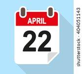 Vector Calendar Icon  Flat...