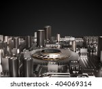 processor  microchip ...   Shutterstock . vector #404069314