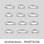 car icons | Shutterstock .eps vector #404076136