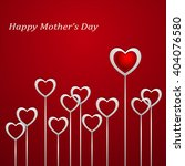 happy mothers day.  festive... | Shutterstock .eps vector #404076580