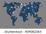 world map   Shutterstock . vector #404082364