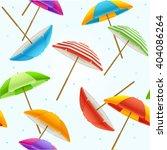 Colorful Beach Umbrella...