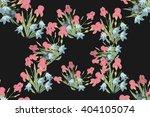 floral iris bell  background... | Shutterstock .eps vector #404105074