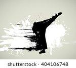martial art  | Shutterstock . vector #404106748