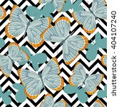 pattern of gray blue... | Shutterstock .eps vector #404107240