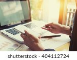 vintage photo woman's hands... | Shutterstock . vector #404112724