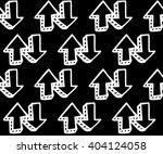 arrows pattern vector... | Shutterstock .eps vector #404124058