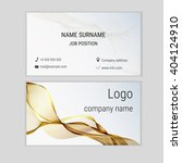 abstract business card design... | Shutterstock .eps vector #404124910