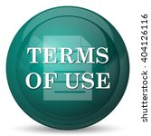terms of use icon. internet...   Shutterstock . vector #404126116