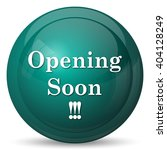 opening soon icon. internet...   Shutterstock . vector #404128249
