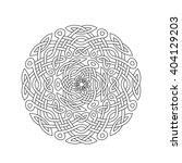 mandala in esoteric style. set... | Shutterstock .eps vector #404129203