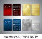 flyer design templates. set of... | Shutterstock .eps vector #404140219