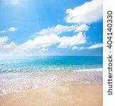 beach and tropical sea | Shutterstock . vector #404140330