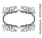 vintage baroque frame scroll... | Shutterstock .eps vector #404141968