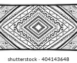 ethnic pattern hand drawn... | Shutterstock .eps vector #404143648