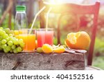summer party outdoor fresh... | Shutterstock . vector #404152516