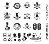 collection of vintage gentleman ... | Shutterstock .eps vector #404169940