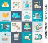 information technologies... | Shutterstock .eps vector #404173933