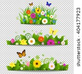 Spring Flower Bouquet Isolated...
