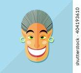 smiling face  vector... | Shutterstock .eps vector #404193610