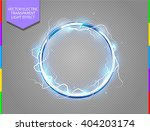 abstract electric ring science... | Shutterstock .eps vector #404203174