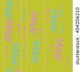 vertical seamless pattern of... | Shutterstock . vector #404206210