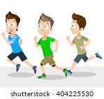 cartoon illustration of male... | Shutterstock .eps vector #404225530