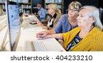library academic computer... | Shutterstock . vector #404233210