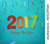 Happy New Year 2017 Background...