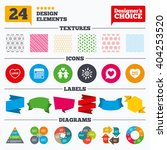 banner tags  stickers and chart ... | Shutterstock .eps vector #404253520