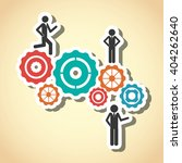 businessman icon design  vector ... | Shutterstock .eps vector #404262640