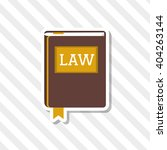 law and justice book design ... | Shutterstock .eps vector #404263144