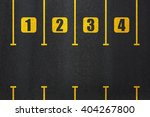 road parking directly above. | Shutterstock . vector #404267800