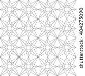 monochrome geometric seamless... | Shutterstock .eps vector #404275090