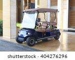 buggy car in a hotel   Shutterstock . vector #404276296