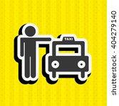 taxi service design  | Shutterstock .eps vector #404279140