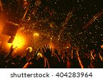 night party festival crowd of... | Shutterstock . vector #404283964