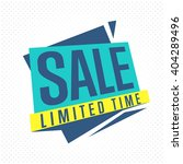 special offer sale tag discount ... | Shutterstock .eps vector #404289496