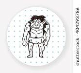 monster doodle | Shutterstock .eps vector #404293786