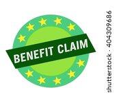 Benefit Claim White Wording On...