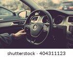 driving a car | Shutterstock . vector #404311123