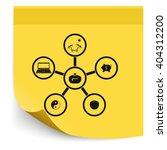 infographic template. family... | Shutterstock .eps vector #404312200