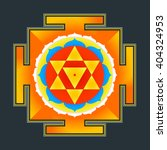 vector colored hinduism... | Shutterstock .eps vector #404324953