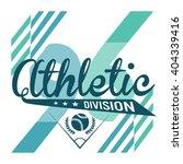 athletic sport varsity... | Shutterstock .eps vector #404339416
