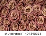 Bunch Of Marsala Colored Rose...