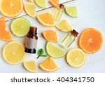 citrus essential oil. various... | Shutterstock . vector #404341750