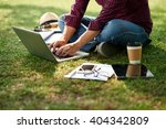 cropped image of student...   Shutterstock . vector #404342809