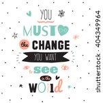 hand drawn typography design.... | Shutterstock .eps vector #404349964