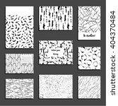 set of universal card templates.... | Shutterstock .eps vector #404370484